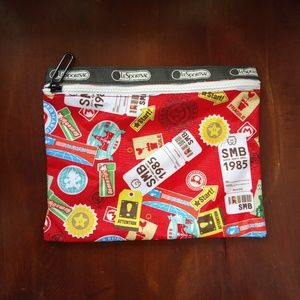 Lesportsac Nintendo Power Up Pouch